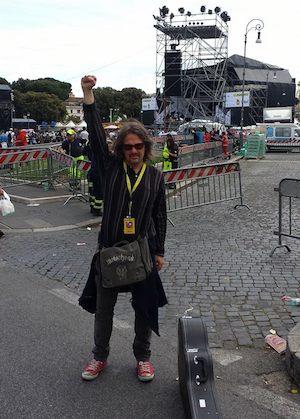 """Alfonso Bruno, da Sorrento al palco del Primo Maggio: """"Mi sono divertito come un pazzo"""""""