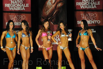 Fa tappa a Sant'Agnello il Grand Prix regionale di bodybuilding