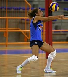 Monica De Gennaro centra l'ennesima convocazione in nazionale