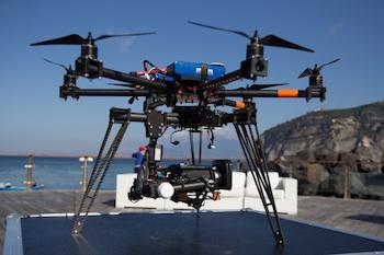 I droni per verificare lo stato di salute del mare