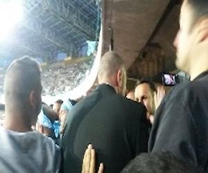 """Le """"Iene"""" al San Paolo in curva """"A"""" durante Napoli – Cagliari"""