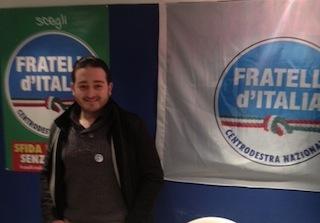 """Davide Infuso: """"Bisogna riformare l'Europa, quindi votate Fratelli d'Italia-Alleanza Nazionale"""""""