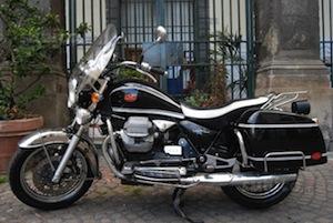 Le mitiche Moto Guzzi in passerella in penisola