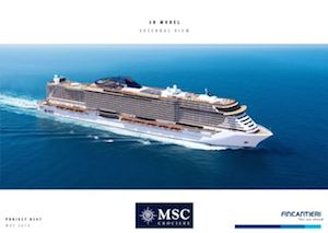 Undici navi fino al 2026: Msc Crociere rinnova la flotta