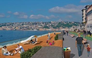 Nuovo waterfront di Napoli, tra i progettisti anche un architetto sorrentino