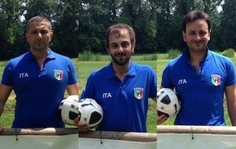 Footgolf, tre sorrentini in nazionale