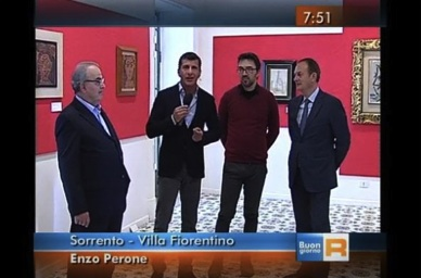 """L'Italia si sveglia nella villa di Picasso con """"Buongiorno Regione"""" -Guarda video-"""