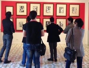 Picasso saluta Sorrento