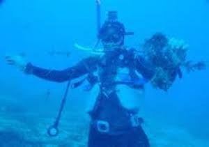 Rimossa rete-killer dalle acque del Parco marino di Punta Campanella
