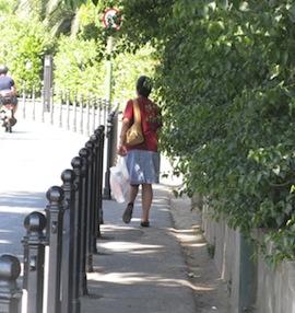Il sindaco ordina il taglio della vegetazione che invade le strade