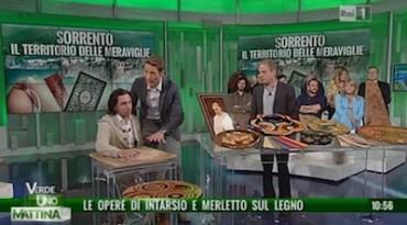 """""""Sorrento il territorio delle meraviglie"""", on line la puntata di """"Uno mattina verde"""" -Guarda Video-"""