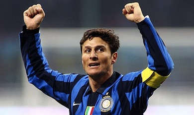 Javier Zanetti annuncia l'addio al calcio giocato