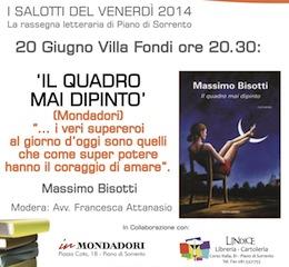 A Villa Fondi la presentazione del romanzo di Massimo Bisotti