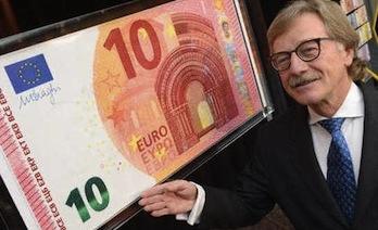 In arrivo la nuova banconota da 10 euro