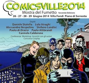 """Torna a Piano di Sorrento la mostra del fumetto """"ComicsVille"""""""