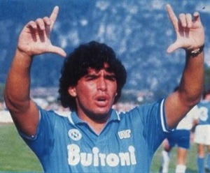 I versi che un tifoso juventino ha dedicato a Maradona – audio –