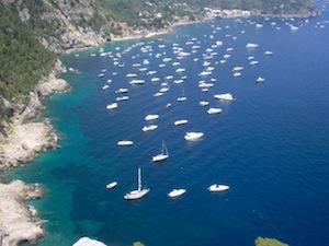 Via libera agli yacht a Marina del Cantone