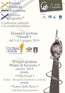 """Domani si apre l'edizione summer del """"Premio Arturo Esposito"""""""