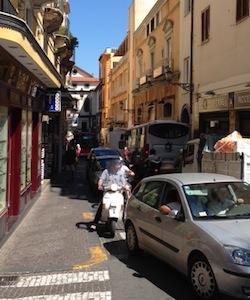 Bus guasto, traffico in tilt nel centro di Sorrento