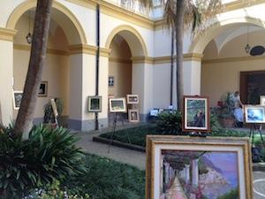 Al chiostro Santa Maria delle Grazie una mostra di quadri made in penisola