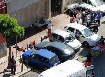 Una rissa finita nel sangue alla stazione della Circum di Castellammare