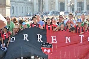 La Scuola Calcio Sorrento a Roma per la Giornata dello Sport