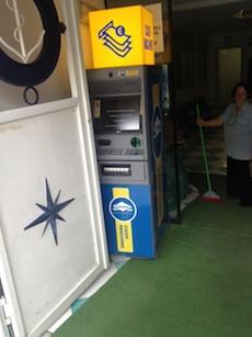 Installati i Bancomat a Marina Piccola e in piazza Tasso