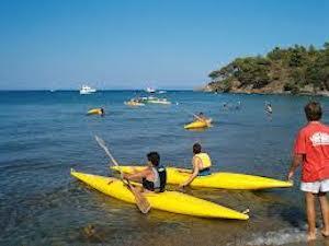 A Sorrento i corsi di canoa per bambini
