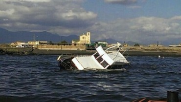 Affonda barca di diportisti tra Castellammare e Torre Annunziata