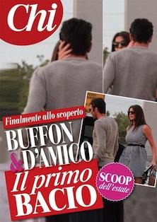 Buffon -D'Amico: ecco il primo bacio