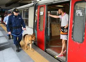 Guardie giurate sui treni della Circum