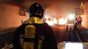 Collaudato il sistema antincendio della nuova galleria Seiano-Pozzano
