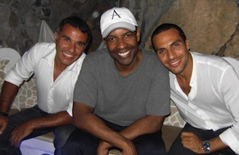 Notte di stelle a Positano: Denzel Washington torna nella sua Costiera