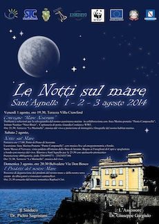 """A Sant'Agnello le """"Notti sul mare"""""""