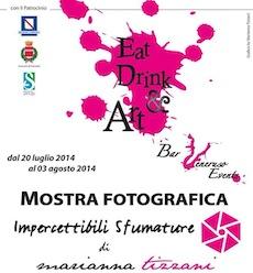 """""""Eat, drink & art"""" al bar Veneruso la mostra fotografica di Marianna Tizzani"""