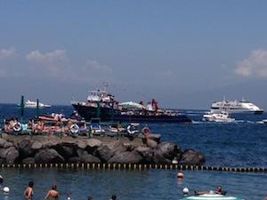 Oggi la processione via mare della Madonna delle Grazie di Marina di Cassano