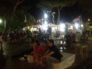 La Marina Piccola si accende nelle notti d'estate -foto&video-