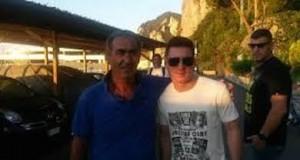 Messi a Capri foto sportmediaset