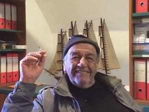 Ciao Peppe, Sorrento saluta               il suo lupo di mare