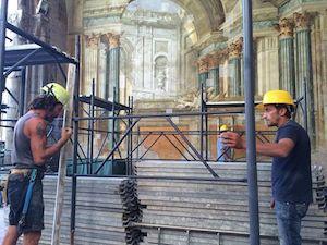 Via libera ai progetti per piazza Lauro, via San Renato e per il restauro del Sedil Dominova