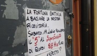 """A Castellammare un """"cinque"""" da 27mila euro"""