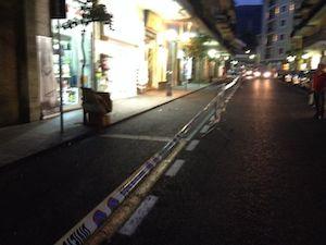 Rifacimento segnaletica, stanotte stop al traffico in viale Nizza