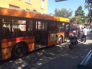 Stop agli autobus più inquinanti nel centro di Sorrento