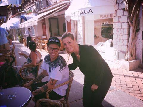 Pomeriggio di relax a Capri per Marek Hamsik