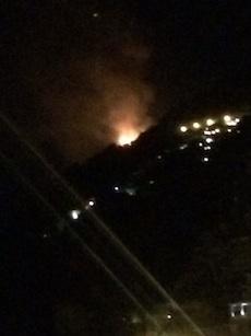 Domato l'incendio a Vicalvano