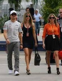 Nico Rosberg sbarca a Positano
