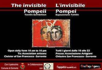 """""""L'invisibile Pompei"""", la mostra in esposizione al chiostro di San Francesco"""