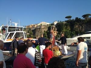 Marina Piccola si prepara per la festa della Madonna del Soccorso