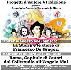 """La musica italiana protagonista a Piano con la rassegna """"Progetti d'Autore"""""""