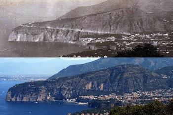 Uno sguardo sulla penisola sorrentina degli inizi del '900